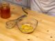 sweet mustard dressing recipe with honey drizzle