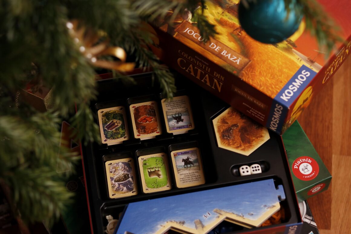 christmas board games family